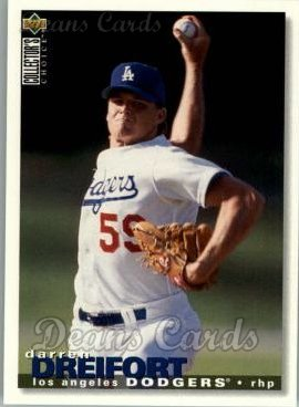 1995 Upper Deck Collector's Choice #226  Darren Dreifort