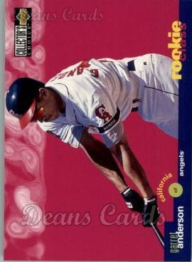1995 Upper Deck Collector's Choice #23  Garret Anderson