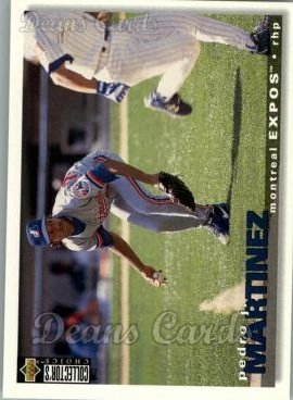 1995 Upper Deck Collector's Choice #244  Pedro Martinez