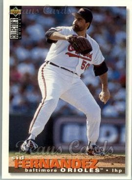 1995 Upper Deck Collector's Choice #344  Sid Fernandez