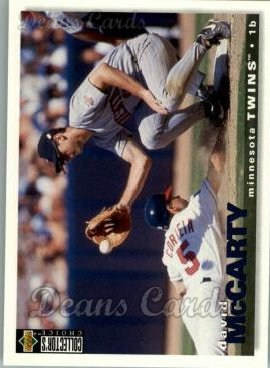 1995 Upper Deck Collector's Choice #485  David McCarty