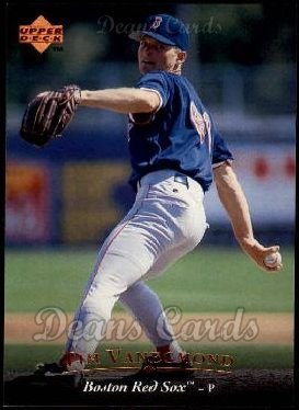 1995 Upper Deck #399  Tim Vanegmond