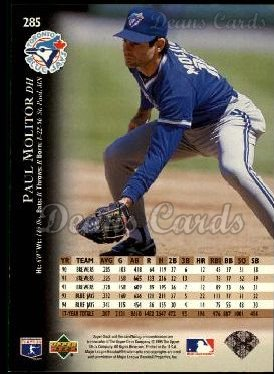 1995 Upper Deck #285  Paul Molitor