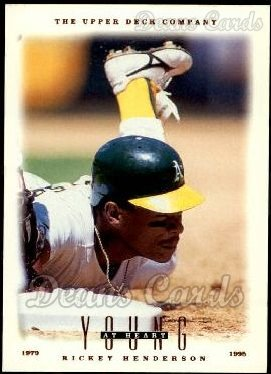 1996 Upper Deck #110  Rickey Henderson