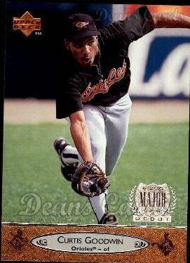 1996 Upper Deck #12  Curtis Goodwin