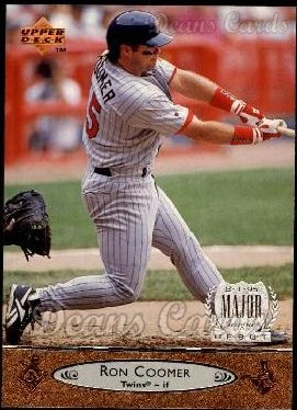 1996 Upper Deck #128  Ron Coomer