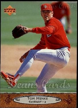 1996 Upper Deck #185  Tom Henke