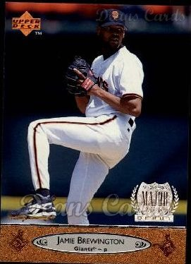1996 Upper Deck #193  Jamie Brewington