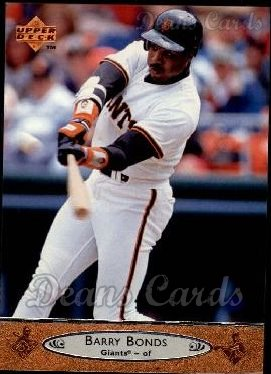 1996 Upper Deck #195  Barry Bonds