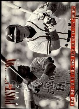 1996 Upper Deck #219  Chipper Jones / Barry Larkin