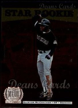 1996 Upper Deck #234  Quinton McCracken