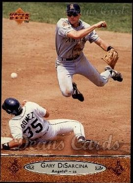1996 Upper Deck #27  Gary DiSarcina