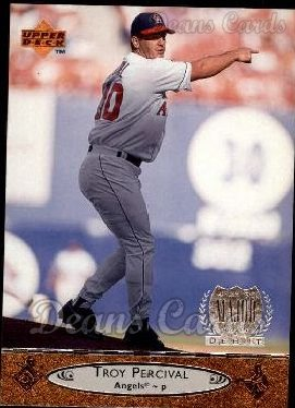 1996 Upper Deck #289  Troy Percival