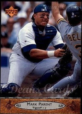 1996 Upper Deck #329  Mark Parent