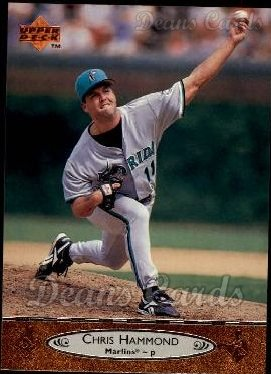 1996 Upper Deck #336  Chris Hammond