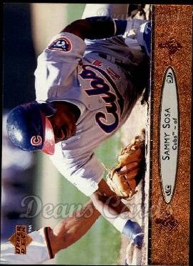 1996 Upper Deck #35  Sammy Sosa