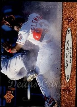 1996 Upper Deck #466  Mark McLemore