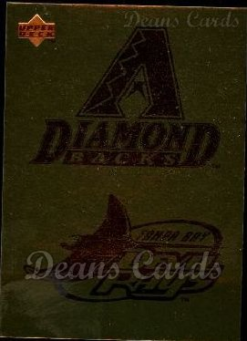 1996 Upper Deck #98   Diamondbacks-Devil Rays