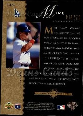 1996 Upper Deck #145   -  Mike Piazza Beat the Odds