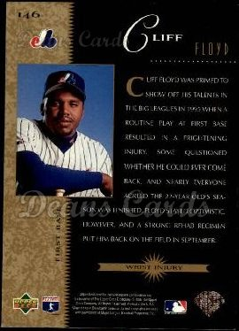 1996 Upper Deck #146   -  Cliff Floyd Beat the Odds