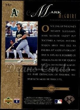 1996 Upper Deck #151   -  Mark McGwire Beat the Odds