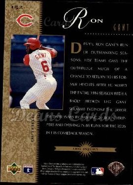 1996 Upper Deck #152   -  Ron Gant Beat the Odds