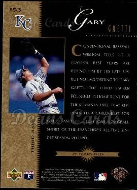 1996 Upper Deck #153   -  Gary Gaetti Beat the Odds