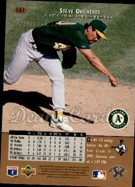 1996 Upper Deck #161  Steve Ontiveros