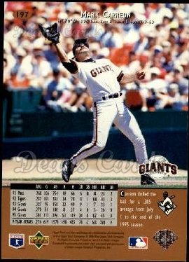 1996 Upper Deck #197  Mark Carreon