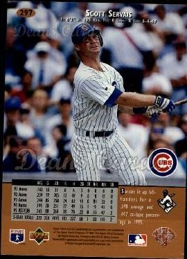 1996 Upper Deck #297  Scott Servais