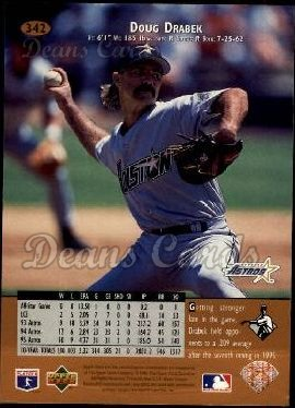 1996 Upper Deck #342  Doug Drabek