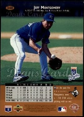 1996 Upper Deck #348  Jeff Montgomery