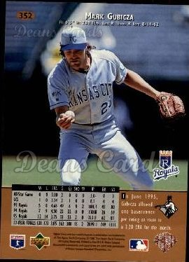 1996 Upper Deck #352  Mark Gubicza