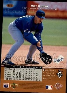 1996 Upper Deck #359  Mike Blowers
