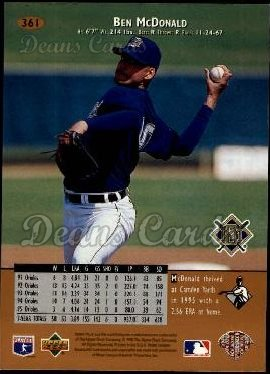 1996 Upper Deck #361  Ben McDonald