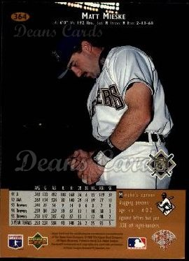 1996 Upper Deck #364  Matt Mieske
