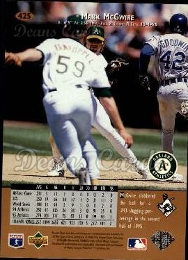 1996 Upper Deck #425  Mark McGwire