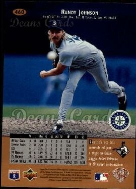 1996 Upper Deck #460  Randy Johnson