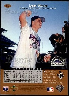 1996 Upper Deck #60  Larry Walker