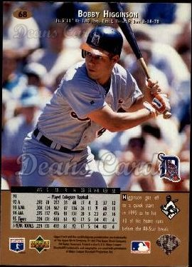 1996 Upper Deck #68  Bobby Higginson