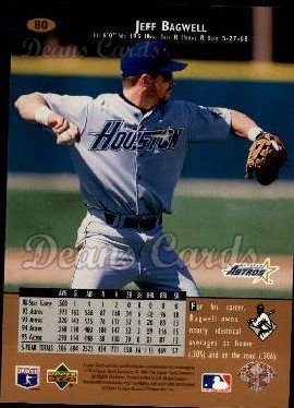 1996 Upper Deck #80  Jeff Bagwell
