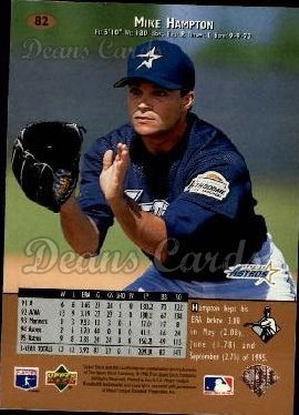 1996 Upper Deck #82  Mike Hampton