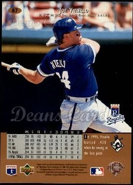 1996 Upper Deck #87  Joe Vitiello