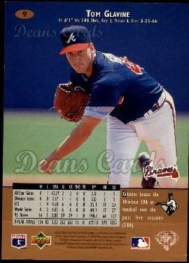 1996 Upper Deck #9  Tom Glavine