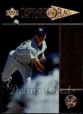 1997 Upper Deck #382   -  David Cone Capture the Flag