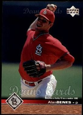 1997 Upper Deck #466  Alan Benes