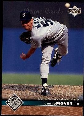 1997 Upper Deck #504  Jamie Moyer