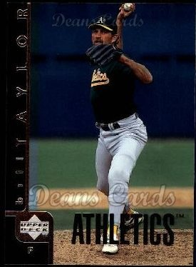 1998 Upper Deck #471  Bill Taylor