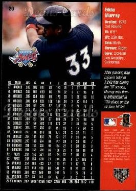 1998 Upper Deck #20  Eddie Murray