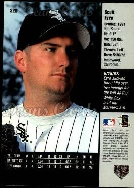 1998 Upper Deck #329  Scott Eyre